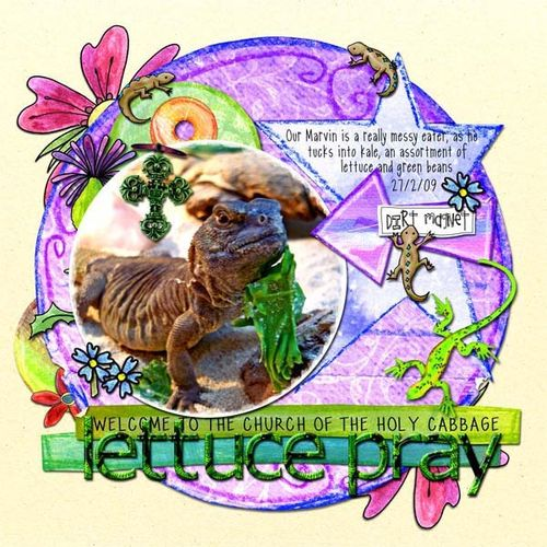 Lettuce-pray