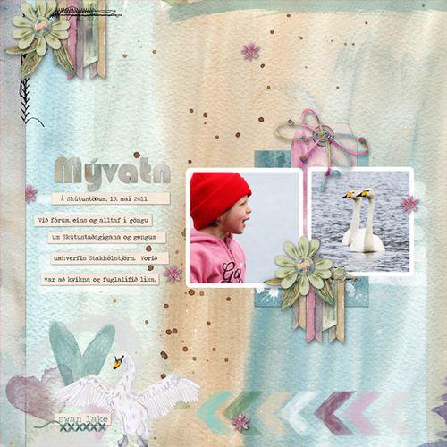 Swanlake-lilja