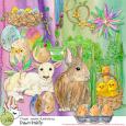 Fragile Easter Illustrations