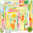 A Slice of Summer Mixed Media Papers {July17 M3}