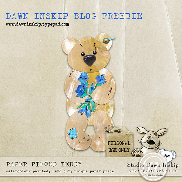 Paper Pieced Teddy